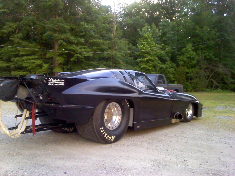 What is a procharger on a race car