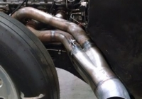 Custom Exhaust Welding